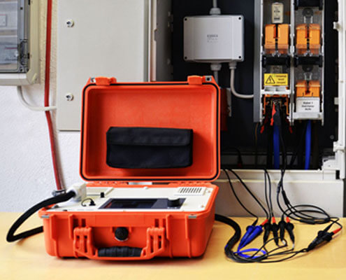 Electrical Grid and Test Equipment