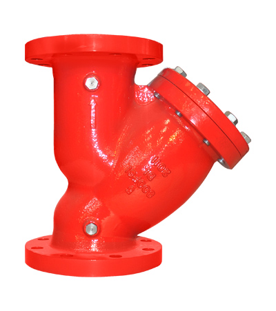 Flanged-Flanged Y Strainer