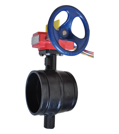 Grooved Butterfly Control Valve
